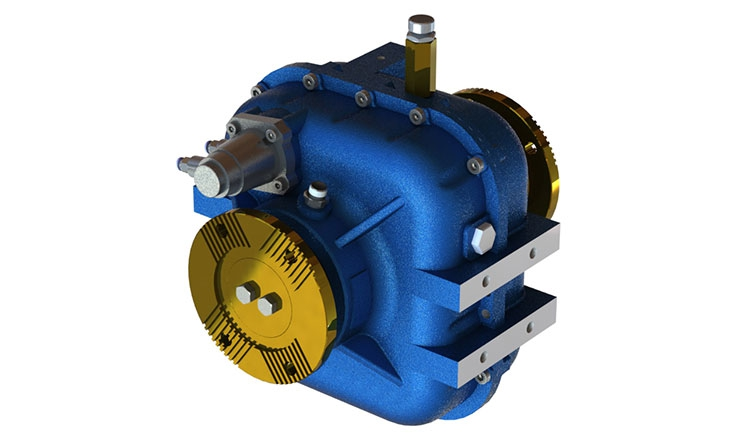 TYPE : OPS462 | REDUCTION GEARBOX Optima Drives