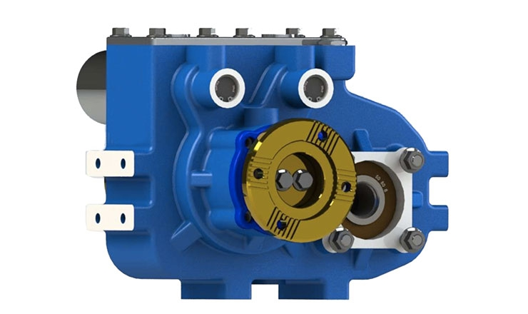 TYPE : OPS482 | REDUCTION GEARBOX Optima Drives