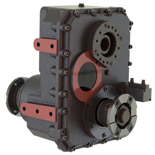 Type : OPS952 |  Transfer Case for Concrete pumps Optima Drives