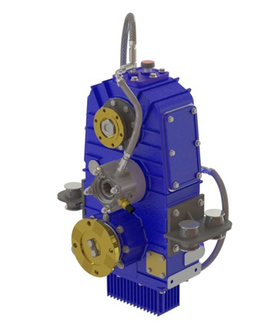 Type : OPS371  |  Vertical Split Shaft PTO