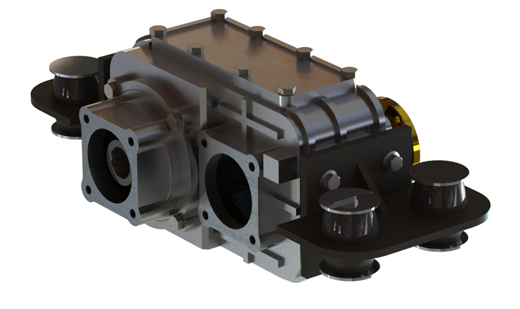 Type : OPS212 | REDUCTION GEARBOX Optima Drives