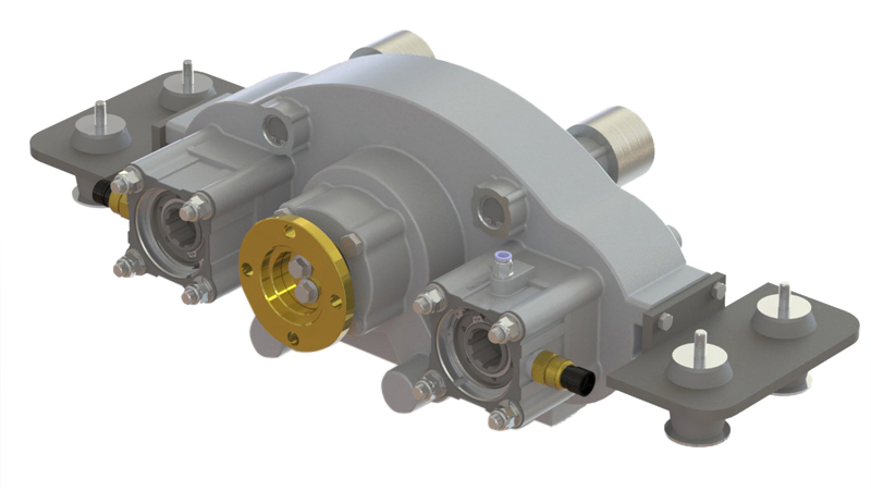 Type : OPS881 | Horizontal Split Shaft Unit Optima Drives