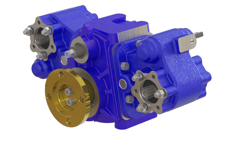 Type : OPS951  |  Horizontal Split Shaft Unit Optima Drives