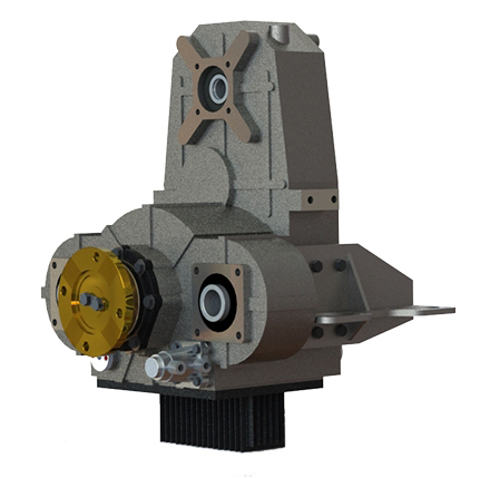 TYPE : OPS222  |  Hydrostatisches Verteilergetriebe Optima Drives