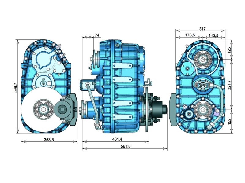 TYPE | OPS-258A TRANSFER CASE Optima Drives