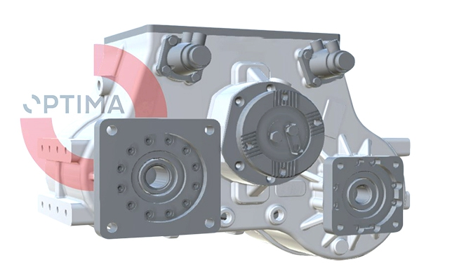 TYPE : OPS782  |  HYDROSTATIC DRIVE Optima Drives