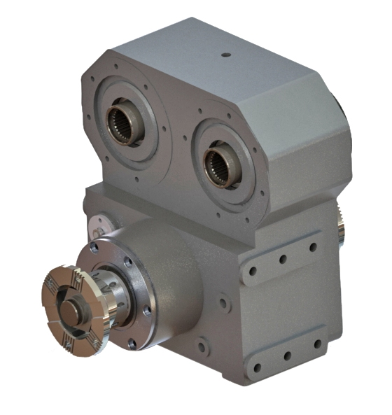 Type : OPS412  |  Transfer Case for Concrete Pumps Optima Drives