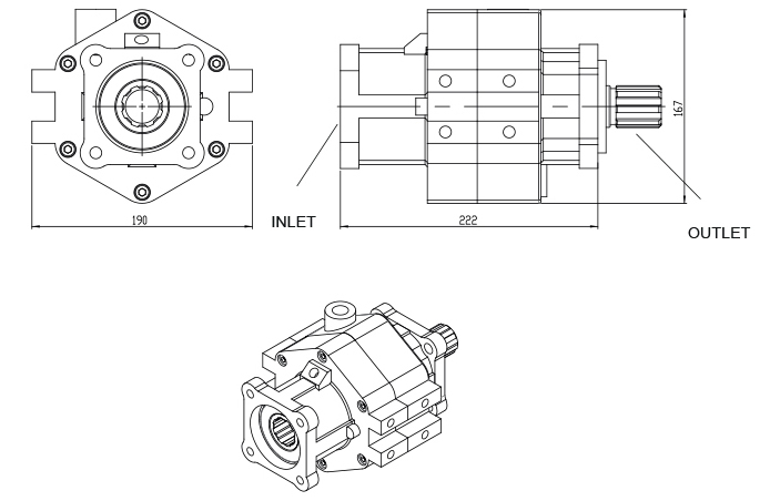 TYPE : OPS842 | PNEUMATIC CLUTCH
